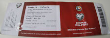 Ticket for collectors World Cup q * Romania - Poland 2016 in Bucarest