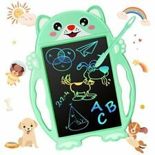 Kids Writing Tablet Toy Gifts - Toddlers LCD Drawing Tablet for Boys Green