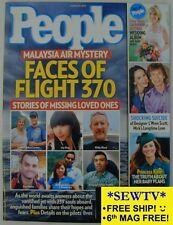 NEW PEOPLE March 31, 2014 - Faces of Flight 370 Malaysia Air