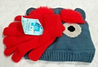 Brand New w Tag Youth 5 to 7 Lily & Dan Knit Hat & Gloves Set