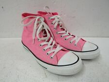 CONVERSE Hi Top Trainers Sneakers - Pink - Size UK 7 | Chuck Taylor
