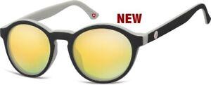 Montana Eyewear Sonnenbrille MS 100 C  verspiegelt (LP49€)NEU Kunststoff Optiker