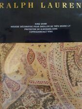 New Ralph Lauren Bellosguardo Paisley King Pillow Sham