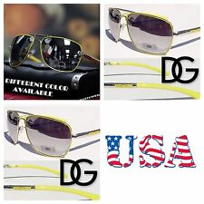 DG Eyewear Men Women Aviators Mirrored Fashion Sports Sunglasses Shade  Yellow