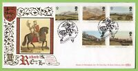 G.B. 1994 Prince of Wales set on Benham Gold First Day Cover, Nottingham