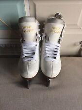 New listing Girls Graf Bolero White Ice Skates EU Size 32