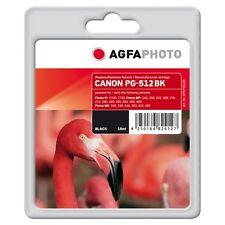 APCPG512B-PG-512 CARTUCCIA RIGENERATA AGFAPHOTO PER CANON PIXMA MP230 MP240 MP25