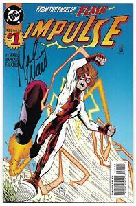 Impulse 1 Signed Mark Waid Autographed DC Flash Max Mercury Combined Shipping