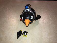 Fisher Price Imaginext DC superfriends Penguin Sub flipper submarine figure S9@