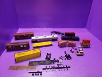 AS IS ASSORTED JUNK HO TRAIN RAILCAR LOT ALL NEED REPAIRS OR CLEANING AS IS