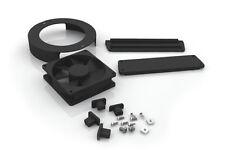 MakersLED heatsink fan/plastics kit: fan cover endcaps for Makers LED heat sink