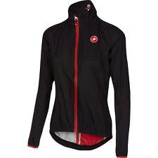 Castelli Women's / Female Riparo Waterproof & Windproof Jacket Black - X-Large