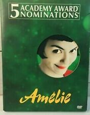 Amelie (Dvd, 2002, 2-Disc Set, Special Edition) w/slip cover