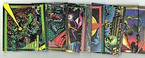 1993 Skybox Marvel Universe Series 4 IV Complete Set (1-180)