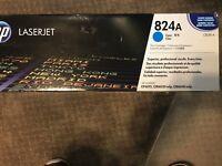 HP 824A cyan print cartridge