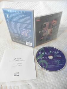 Philips CDi Interactive CD PRELUDE PRECURSORS OF 20TH CENTURY MUSIC/ART