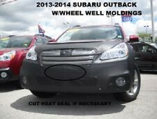 Front End Mask Car Bra Fits 2013-2014 Subaru Outback W/ Wheel Well Moldings