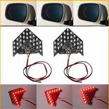 2X Super Red 33-SMD Sequential LED Arrows for Car Side Mirror Turn Signal Lights