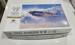 Hasegawa No. 08882   1:32 Mitsubishi J2M3 Raiden (Jack) Type 21