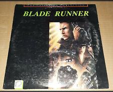 """Blade Runner - 12"""" Laserdisc, 2 Disc CAV set LD - Criterion - VG - free shipping"""