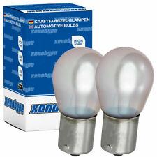 CHROM SILVER VISION Blinkerbirnen für Opel CORSA C F08 F68 Blinkerlampen BAU15s