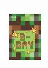 TNT PARTY FAVOR BAGS (8) ~ Birthday Supplies Plastic Treat Loot Goody Sack Green