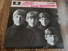 """THE BEATLES - ALL MY LOVING 7"""" EP 1981 RE EX"""