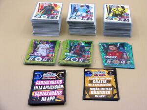 LOTE 230 CARDS TOPPS MATCH ATTAX 2020 / 2021 - 20 21 - CODIGOS GRATUITOS APP