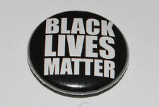 BLACK LIVES MATTER 25MM / 1 INCH BUTTON BADGE POLITICS ANTI-RACISM/ANTI-RACIST