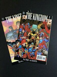 DC Comics | THE KINGDOM #1, 2 | Superman, Batman, Flash, Justice League America