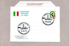 ITALIA, INTERI, AEROGRAMMA FDC, 1995, E.P.E. TRICOLORE, Fil. A28
