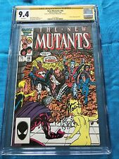 New Mutants #46 - Marvel - CGC SS 9.4 NM  - Signed by Kyle Baker, Ann Nocenti