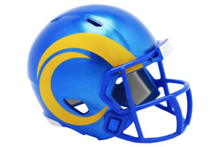 Los Angeles Rams 2020 NFL Riddell Pocket Pro Speed Mini Football Helmet