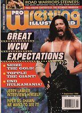 Pro Wrestling Illustrated September 1996 Kevin Nash, Jerry Lawler EX 011916DBE