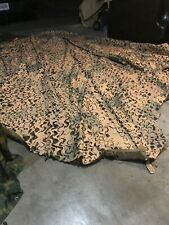 NEW CAMOUFLAGE NETTING DIAMOND AND HEXAGON (TYPE IV) DESERT SCATTERING