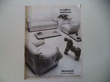 advertising Pubblicità 1977 GIOVANNETTI - BOTTEGONE (PISTOIA)