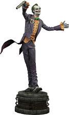 "BATMAN: Arkham Asylum - Joker 24.5"" Premium Format Statue (Sideshow) #NEW"