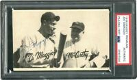 1936 R314 Joe DiMaggio Signed ROOKIE Goudey (POP 1) W/ Rookie Era Signature PSA