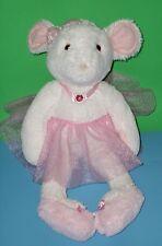 "Adorable Ballerina Cuddly Petunia Mouse Stuffed Douglas Cuddle Toy Doll 2013 20"""