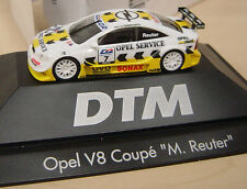 "Herpa - Opel V8 Coupé - DTM 2001 ""Nr. 7 /M. Reuter / service-fit"" 037952 - 1:87"