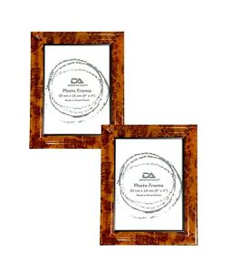Picture Frame Photo Frame for Pictures and Photos Portrait and Landscape Walnut
