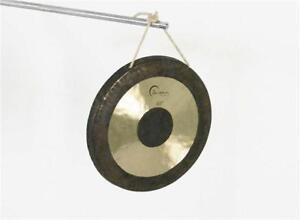 """Dream 10"""" Chau Black Dot Gong, FREE UK SHIPPING"""