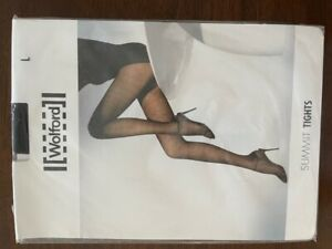 WOLFORD Women's SUMMIT Tights Size L Large