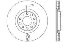 2x OPEN PARTS Discos de freno delanteros Ventilado 305mm BDA2561.20