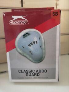 Slazenger Unisex Classic Abdo Guard Small Boys, White