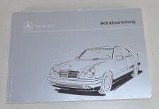 Betriebsanleitung Mercedes Benz E-Klasse W210 von 05/1995