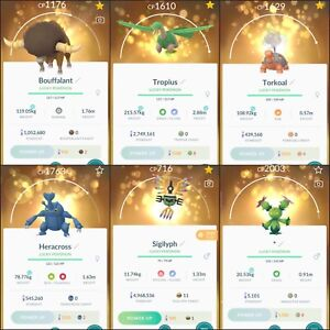 Pokémon GO - ALL REGIONAL POKEMON Trades - KLEFKI BOUFFALANT TROPIUS AVAILABLE!