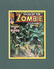 TALES OF THE ZOMBIE #7 COVER MATTED PRINT Marvel