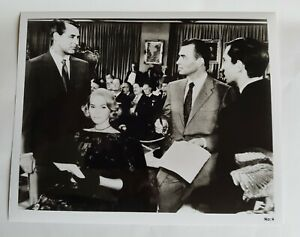 NORTH BY NORTHWEST 1959 Hitchcock Cary Grant Re- Issue UK Press Photo Still