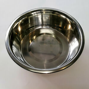 Deluxe Stainless Steel Dog Bowl 21cm in Diameter by 7cm High Holds 1 Ltr RP06062